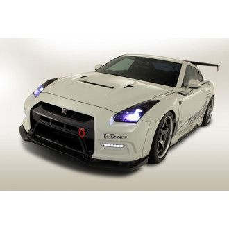 Varis carbon front bumper facelift for Nissan R35 GT-R