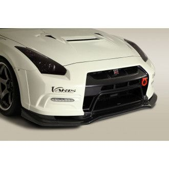 Varis front grille trim for Nissan R35 GT-R (carbon)
