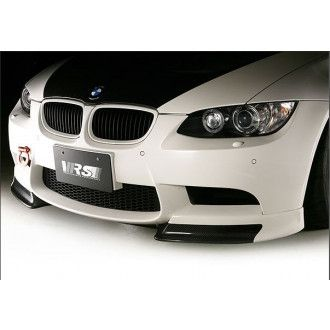Varis fiberglass front lip with carbon flaps for BMW E92 M3