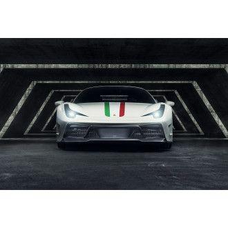 Vorsteiner 458-VX Aero Carbon Frontstoßstange mit Frontspoiler für Ferrari 458 Italia