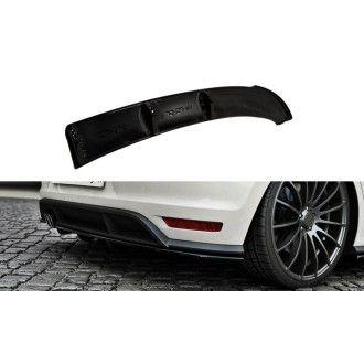 Maxton Design ABS Diffusor für Volkswagen Polo 6R|6C GTI|R Facelift schwarz hochglanz