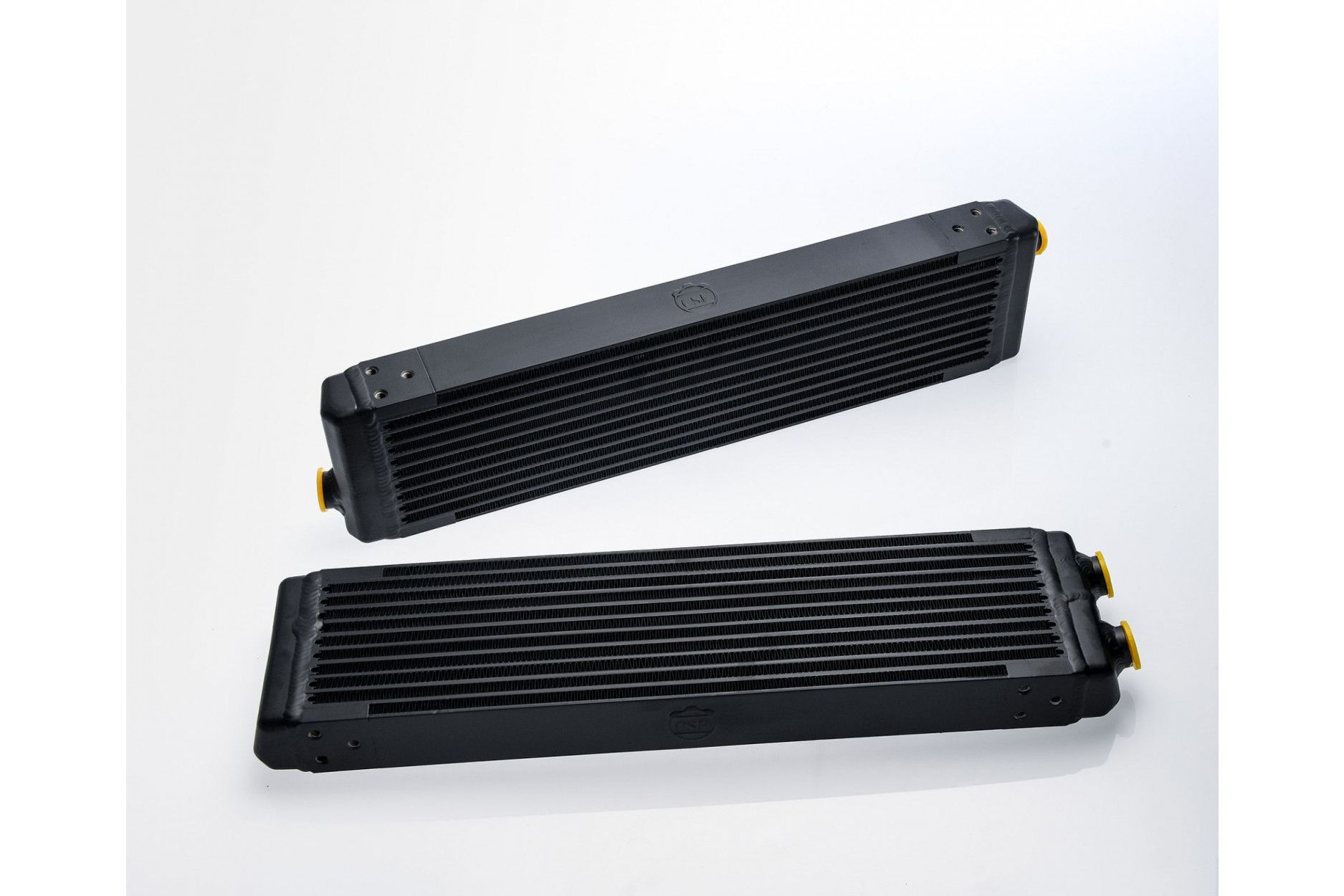 Universal Dual-Pass Oil Cooler w/ Direct