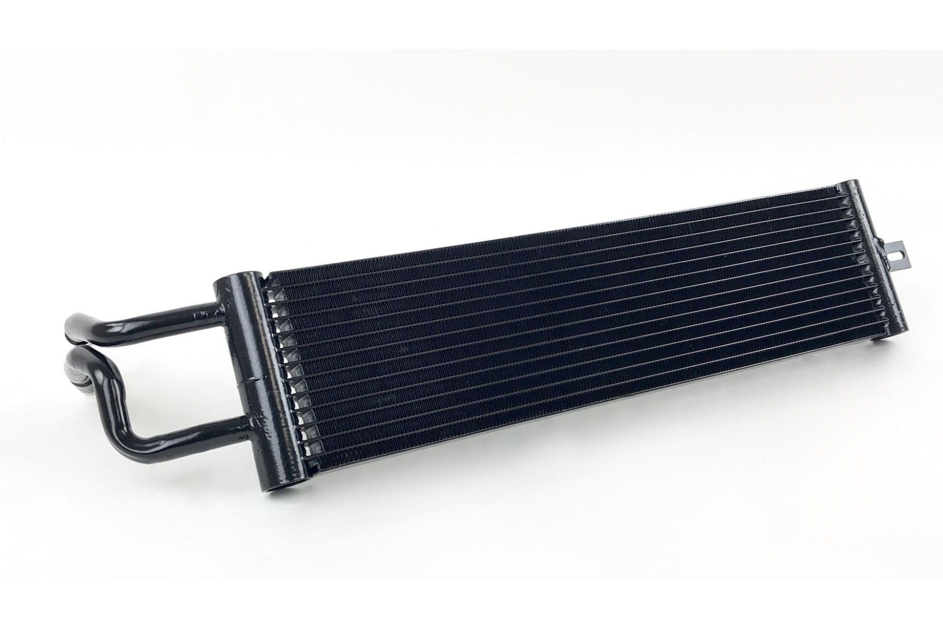Race-Spec Dual-Pass DKG Getriebeölkühler für BMW N55 M2 F87