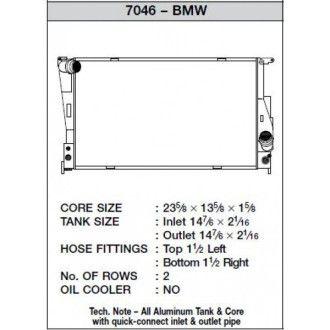 CSF Wärmetauscher Wasserkühler für BMW E-Serie 1M 135i 335 Z4 Automatik