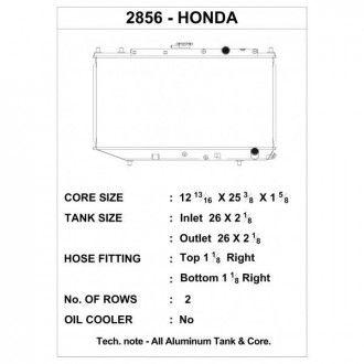 CSF Wärmetauscher Wasserkühler für Hona Civic und Honda CRX 1988-1991