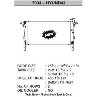 CSF Wärmetauscher Wasserkühler für Hyundai Genesis 2.0 Turbo (Handschalter) 2010-2012