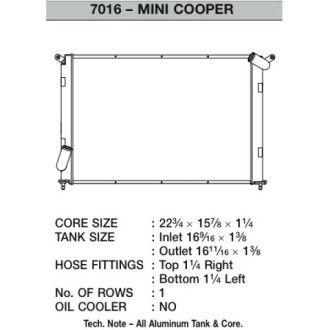 CSF Wärmetauscher Wasserkühler für Mini Cooper S 2002-2007