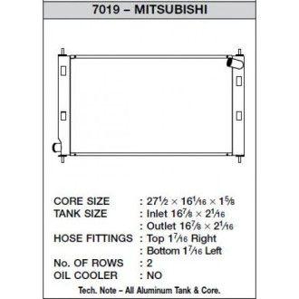 CSF Wärmetauscher Wasserkühler für Mitsubishi Lancer Evo X und Ralliart Handschalter und TC-SST 2008 - 2015