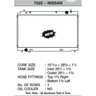 CSF Wärmetauscher Wasserkühler für Nissan 350Z 2007-2008