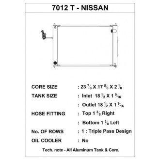 CSF Wärmetauscher Wasserkühler für Nissan 370Z 2008-2017 (Triple-Pass-Modul - Handschalter)