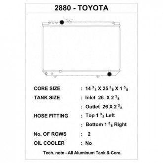CSF Wärmetauscher Wasserkühler für Toyota Supra 1987-1992