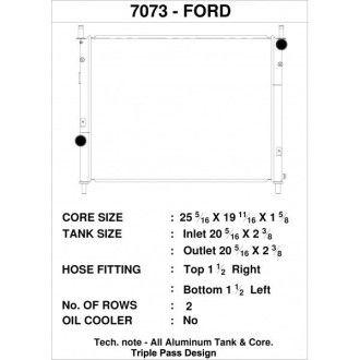CSF Wärmetauscher Wasserkühler für Ford Mustang GT 5.0L 2015+