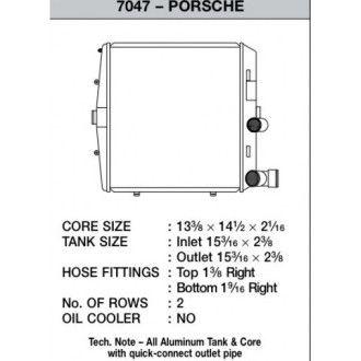 CSF Wasserkühler für Porsche Boxster (987) | Cayma (987) | 911er Carrera (997) | GT3 (997 auch RS) links