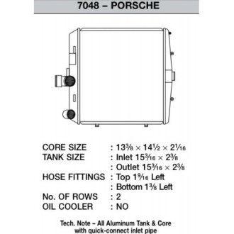 CSF Wasserkühler für Porsche Boxster (987) | Cayma (987) | 911er Carrera (997) | GT3 (997 auch RS) rechts