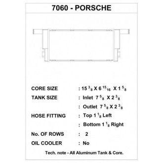 CSF Wasserkühler mitte für Porsche 911 Carrera (991.1)| Boxster (981)| Cayman (981) mitte
