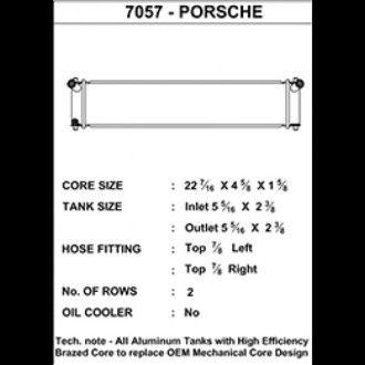 CSF Wasserkühler mitte für Porsche 996 911er (1998-2005) | 986 Boxster (1996-2004) | 996 GT3 (auch RS)