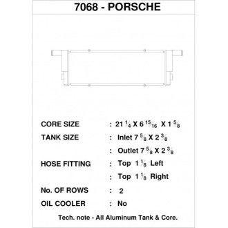 CSF Wasserkühler links für Porsche 911er 991.1 und 991.2 Turbo | GT2 (auch RS) | GT3 (auch RS und CUP) | Boxster (981 Spyder) | GT4 (981)