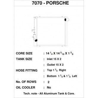 CSF Wasserkühler links für Porsche 911er 991.1 und 991.2 Turbo | 991.1 GT3 (auch RS und CUP) rechts