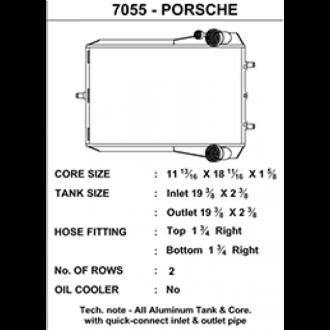 CSF Wasserkühler für Porsche 911 Turbo (996 | 997), GT2 (996 & 997 auch RS), Boxster (986 & 987) RECHTS