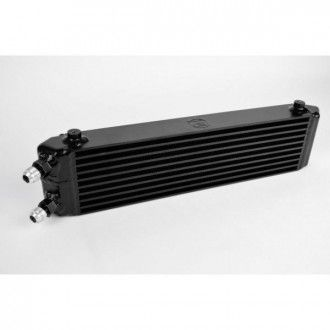 Universal Dual-Pass internal/external oil cooler